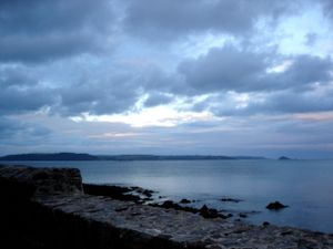 Big Clouds Over Plymouth Sound