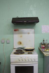 cooking  at refugee camp Pikpa, Lesbos
