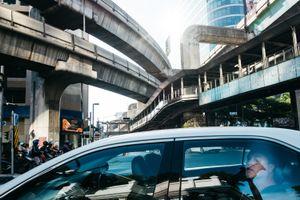 Bangkok junction, Thailand, 2017