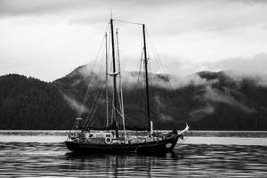 Chanty at anchor