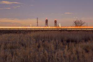 NJ Turnpike and reeds