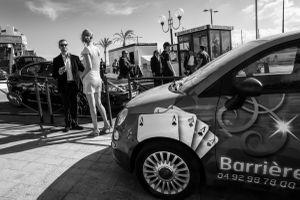 outside the Casino Croisette, 2014  © Alison McCauley