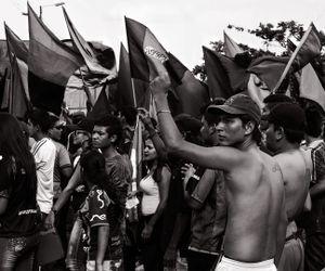Protest in Ibague © Antonio Pulgarin