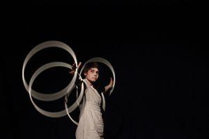 Circles in the dark