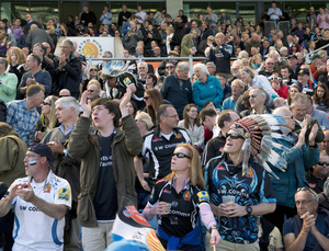Exeter Chiefs Fans, Sandy Park Stadium