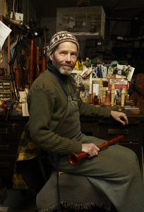 Joel Robinson - Historical Woodwind maker, Lower East Side Manhattan