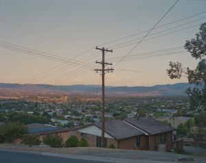 View over Tumut, NSW