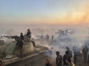 Starting of Mosul Battle
