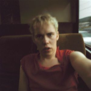 Self-Portrait In The Bus 114