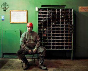 """Between an Eight-Hour Shift of Mining Coal, from the series """"The Place of No Roads"""" © Ville Lenkkeri"""
