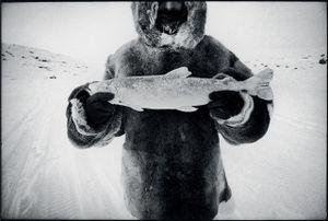 © David Carol, Joe with Fish, Baffin Island. Honorable Mention, LensCulture International Exposure Awards 2010