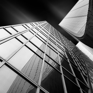 Glass Ladies III - Vertical Tension - Curving Grace