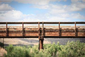 Railroad Trestle, Wyoming, 2011 © Patti Hallock