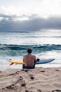 Waiting for the perfect waves