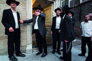 Hasidic students invite entrance