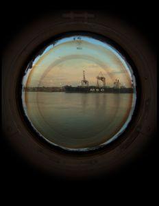 "Vantage Point Portholes 24x24 """