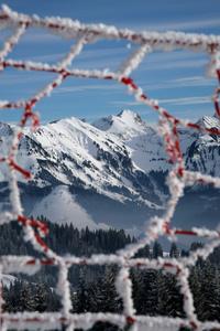 Wintersports in Gruyère. Sports d'hiver si neige il y a. La Berra.