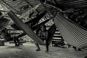 Between hammocks