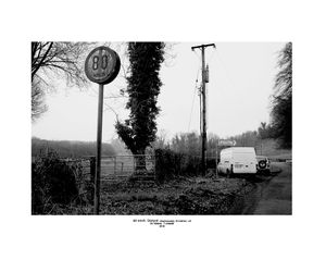 80 kmh- Road Sign, Diptych