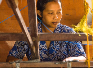 At Her Loom