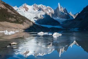Glacier Lake at Cerro Torre