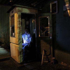 Lindomar, night sentry. © Stefan Schmeling