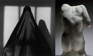 Lisa Lyon, 1982 © Robert Mapplethorpe Foundation. Used by permission. Torse feminin, dit du Victoria and Albert Museum, vers 1910-1914 © Paris, musee Rodin