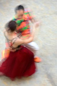 Mall of Berlin, Potsdamer Platz, tango dancers, august 2018, Nr. 3