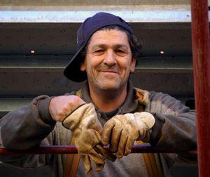 Steel Worker, Roma, Italia