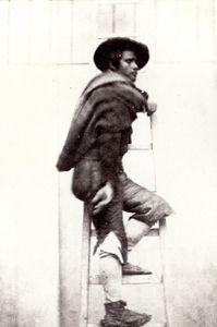 Alphone Delaunay Type espagnol, 1854. © Collection particulière