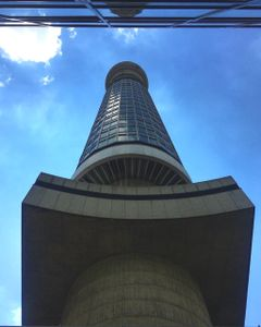 The Telecom Tower From Below