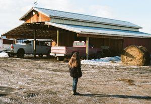 Girl in Ronan, Montana.