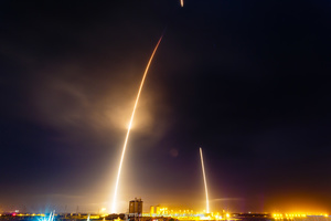 Launch and Landing of the Falcon 9 Rocket