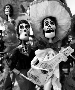 Day of the Dead Figures, Cancun, Mexico