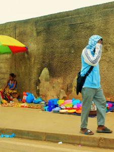 street market in Libreville