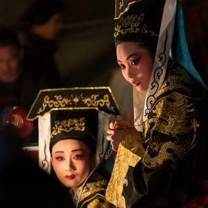 Opera in Zhejiang countryside8