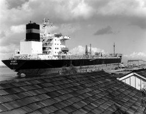 Ship, Port of Redwood City, CA