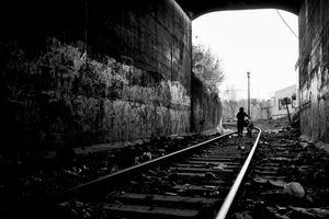 Olympia, WA. Downtown Train Tunnel. 2016