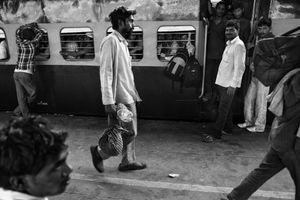 IMPRESSIONS AT THE OLD DELHI RAILWAY STATION 39