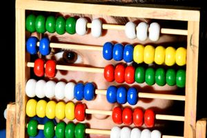 Abacus face