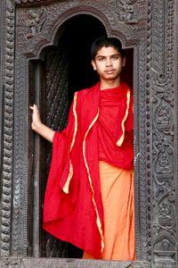 Young Monk, Varanasi