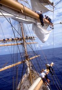 Furling sails
