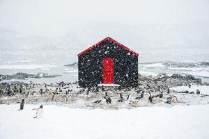 Base A - Port Lockroy, Goutier Island, Antarctica