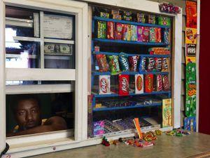Arthur in His Candy Shop, Westside, Detroit 2014