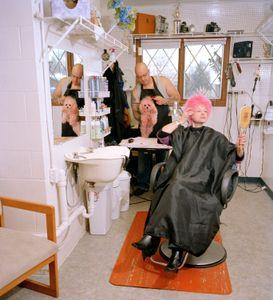 Pink Haircut