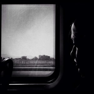 Girl On Train - Naples
