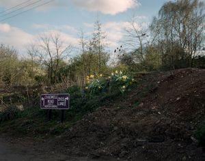 Disconnected #7  Site of Murder scene outer cordon © Steve Meyler