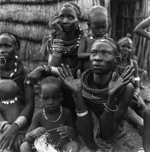 Group of women and children