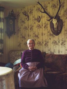Maria Anna Griessbaum, Black Forest, 2008. From the series: The last women in their traditional peasant garbs
