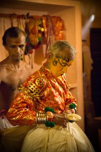 Kathakali Performer. Kerala, India